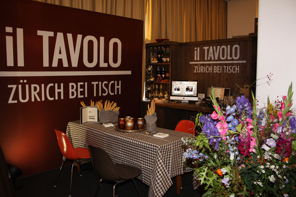 Il tavolo stand at the Gourmesse in Zurich