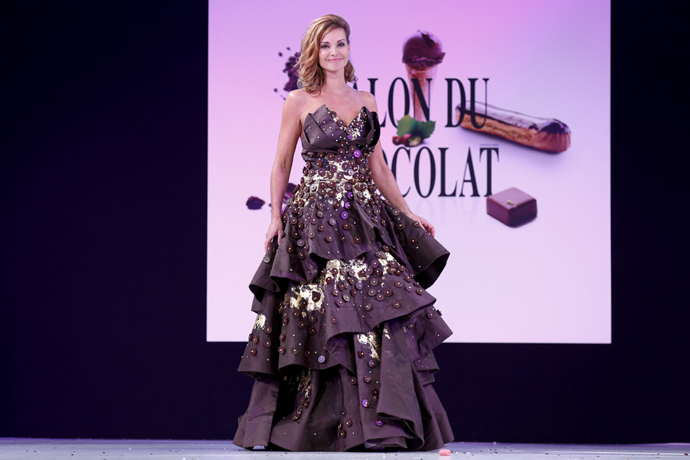 Ingrid Chauvin Florencia Soerensen & Maison Bernachon-® salon du chocolat 2014, raffoux