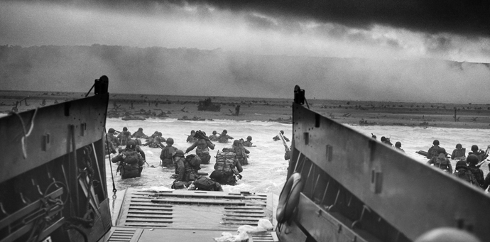 70th anniversary of D-Day landings in Normandy (France)