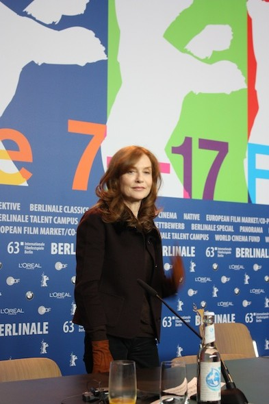 Isabelle Huppert at the Berlinale
