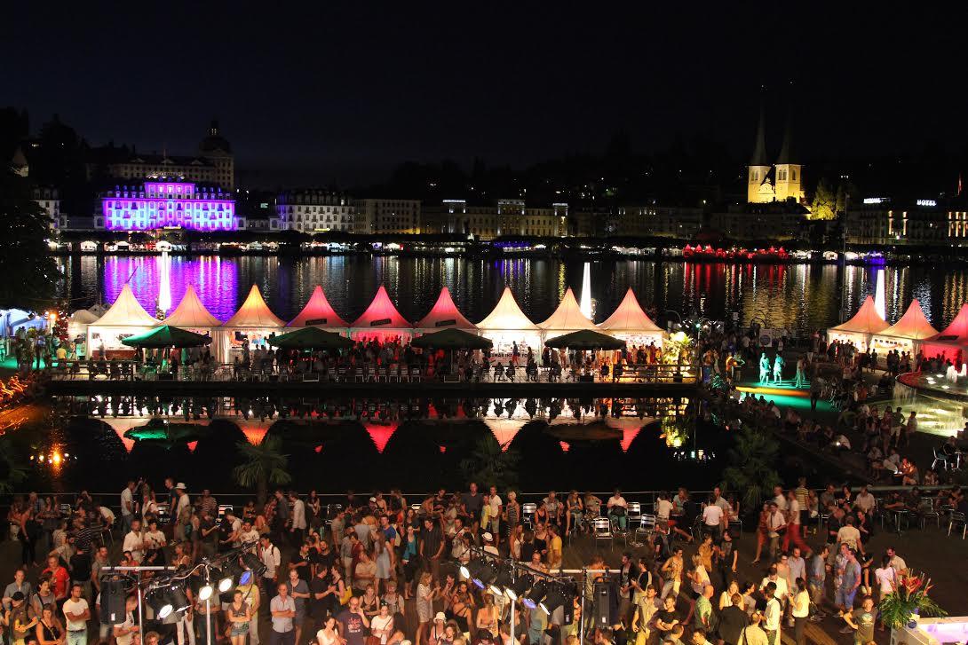 Blueballs festival in Lucerne -courtesy photo Brigid Schlunegger