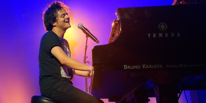 Jamie Cullum at the Blueballs festival in Lucerne