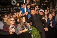 A Golden Icon Award for Australian actor Hugh Jackman