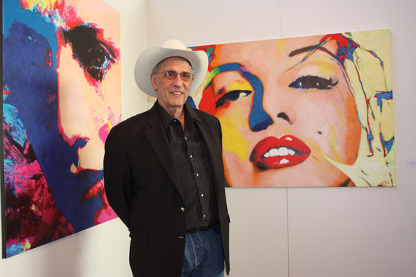 James Francis Gill at Art International Zurich in 2012
