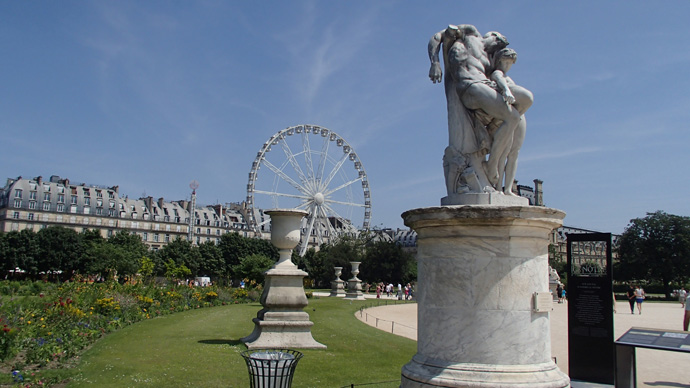 Les Jardins des Tuileries, Paris