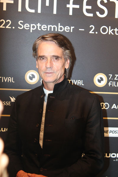 Jeremy Irons, actor and Academy Award Actor