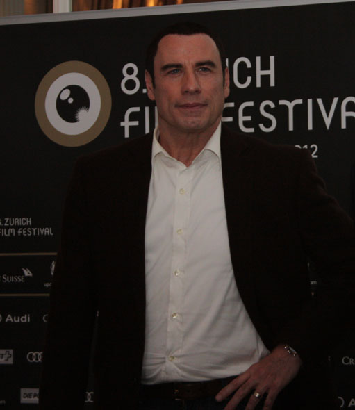 John Travolta at the ZFF media conference
