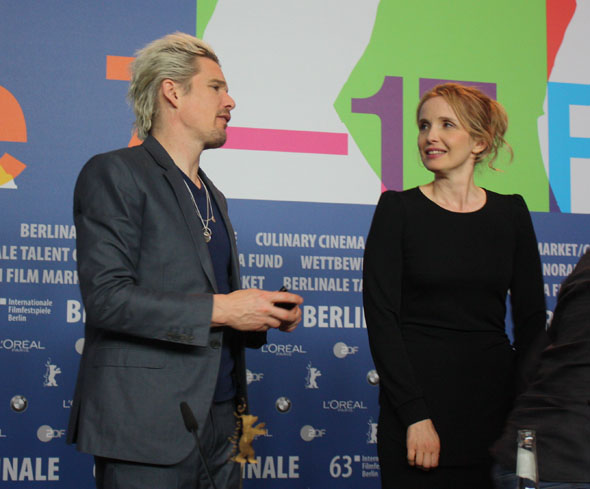 Julie Delpy and Ethan Hawke in Berlin