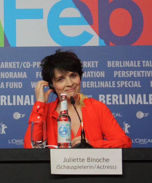 Juliette Binoche, Berlin