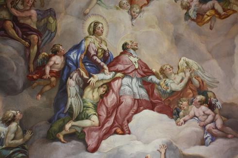 Charles Borromeo going to heaven
