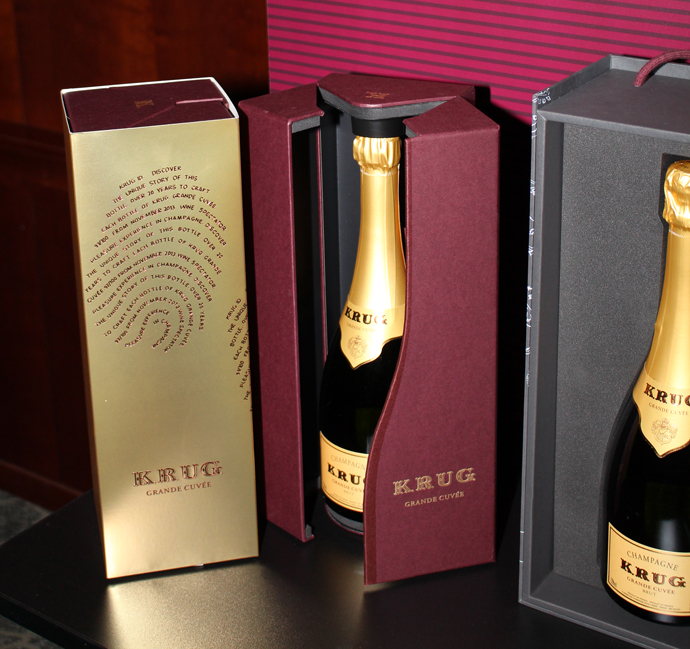 Krug champagne - copyright Veronique Gray