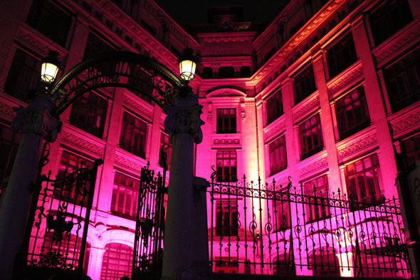 La Martinière - Girls school - Lyon- Festival of lights