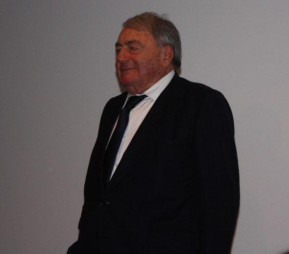 Claude Lanzmann in Berlin