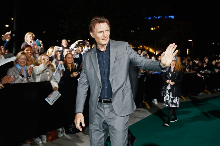 Liam Neeson at the ZFF - copyright ZFF