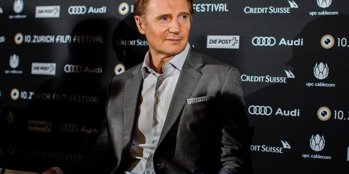 Liam Neeson talks about his life as an actor