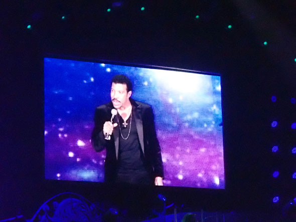 Lionel Richie in Zurich during the Tuskegee Tour