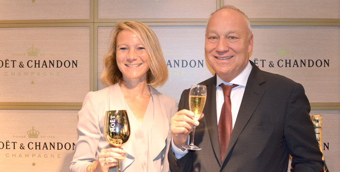 Moët  & Chandon supports the Swiss Indoors in Basel