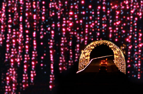 the magical nights of lights credit lake lanier islands resort