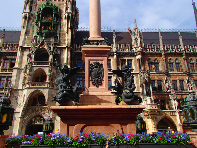 Marienplatz, Munich (Germany)