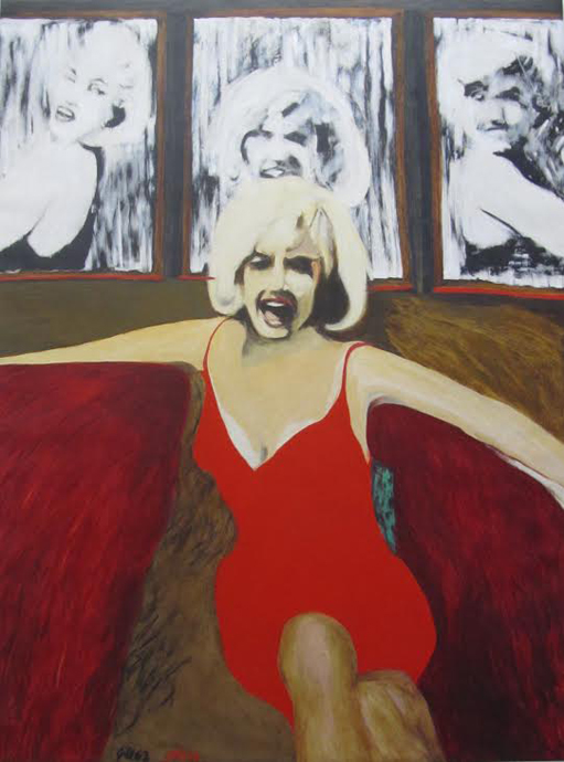 Marilyn Golden Anniversary from James Francis Gill - copyright Premium Modern Art