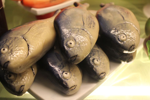 Marzipan fish