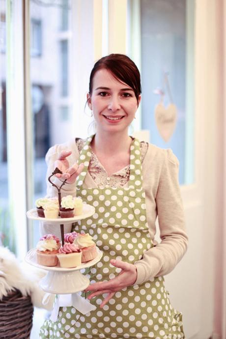 Melanie Jones portrait from Cupcake Affair - copyright Cupcake Affair