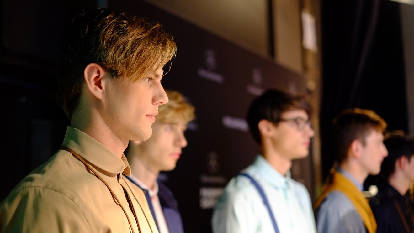 Men Fashion at the Mercedes Benz Fashion Days in Zurich - copyright Caitlin Krause