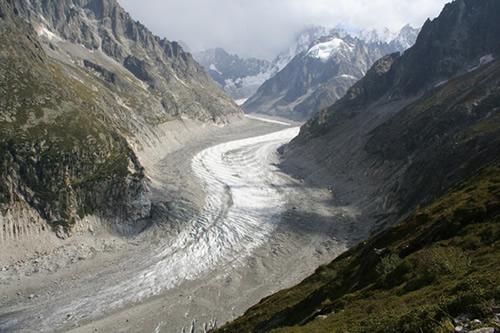 Mer de glace - walk to Montenvers