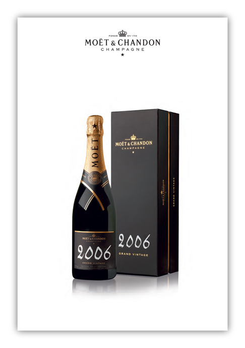 Moët & Chandon Grand Vintage 2006 - copyright Moët & Hennessy