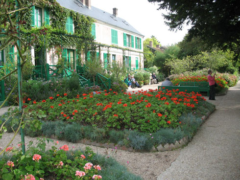 Monet's home in Giverny - copyright Isabelle Jutel