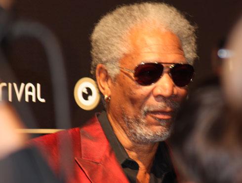 Morgan Freeman at the International Film Festival