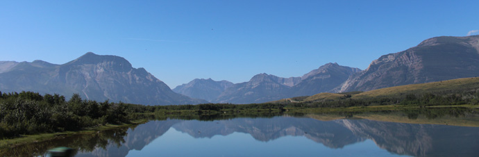 Morning in Waterton, Waterton Lakes Park - copyright Veronique Gray