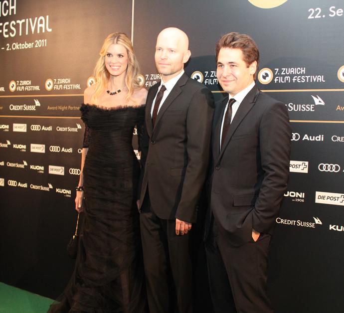 Nadja Schildknecht, Marc Foster and Karl Spoerri, Zurich Film Festival 2011