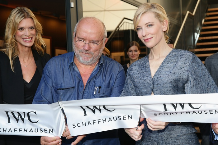 Nadja Schildknecht - Peter Lindbergh and Cate Blanchett at the ZFF - copyright ZFF