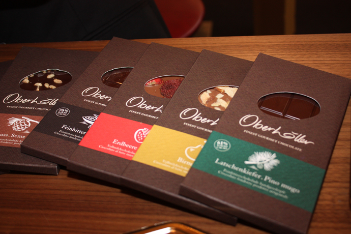 Oberhöller chocolates from South Tyrol - copyright Véronique Gray