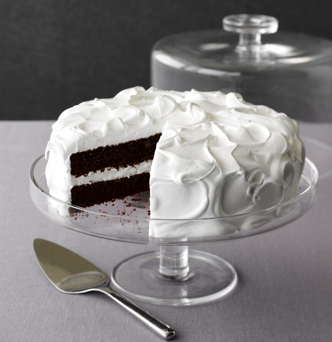 Nick Malgieri's old fashioned devil's food cake - Vivamost!