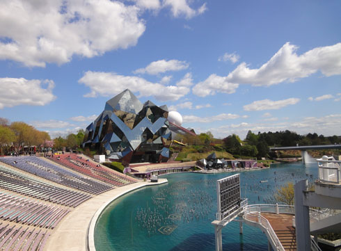 Open air theater at the Futuroscope