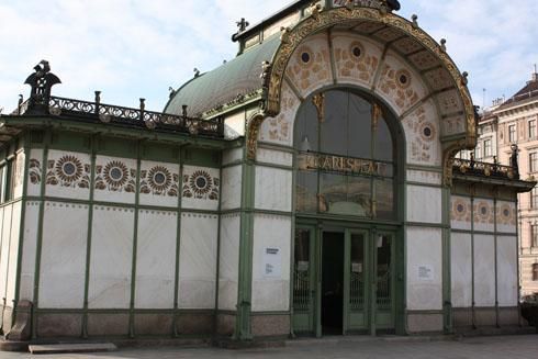 Otto Wagner Subway Pavillon, Karlsplatz