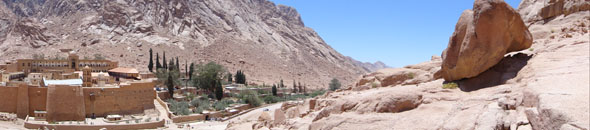 Monastery of St Catherine, Sinai Egypt