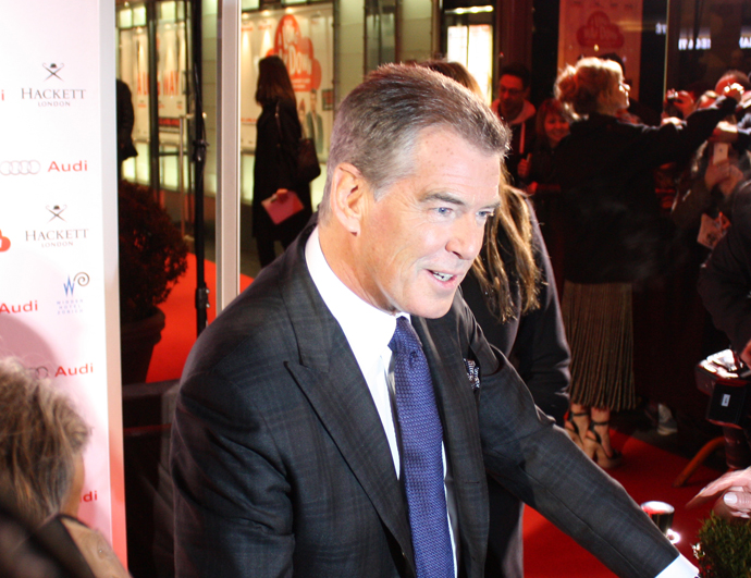 Pierce Brosnan in Zurich - copyright Véronique Gray
