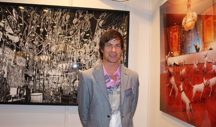 Regis Colombo at Art International - copyright Veronique Gray