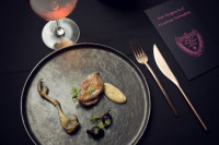 Launching of Dom Pérignon Rosé Paradox menu in Switzerland