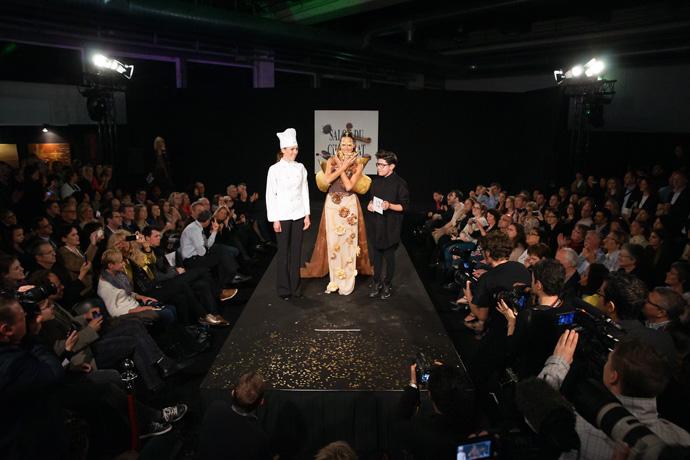 SDC Zurich Fashion show with Confiserie Sprungli and Edgar Balseca - copyright Nicolas Rodet