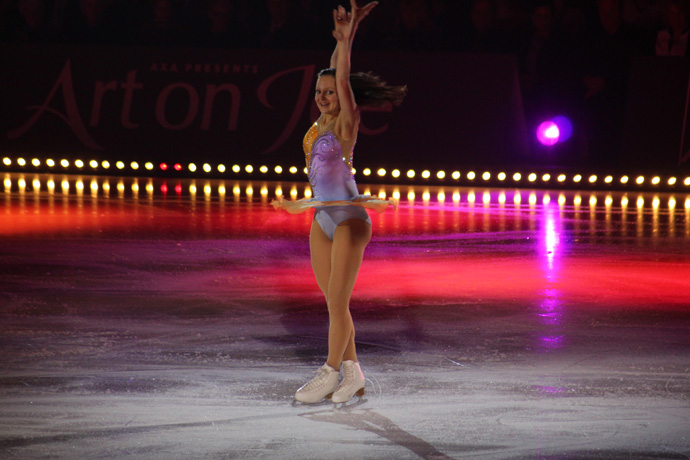 Sarah Meier at Art on Ice 2015 - credit photo Veronique Gray