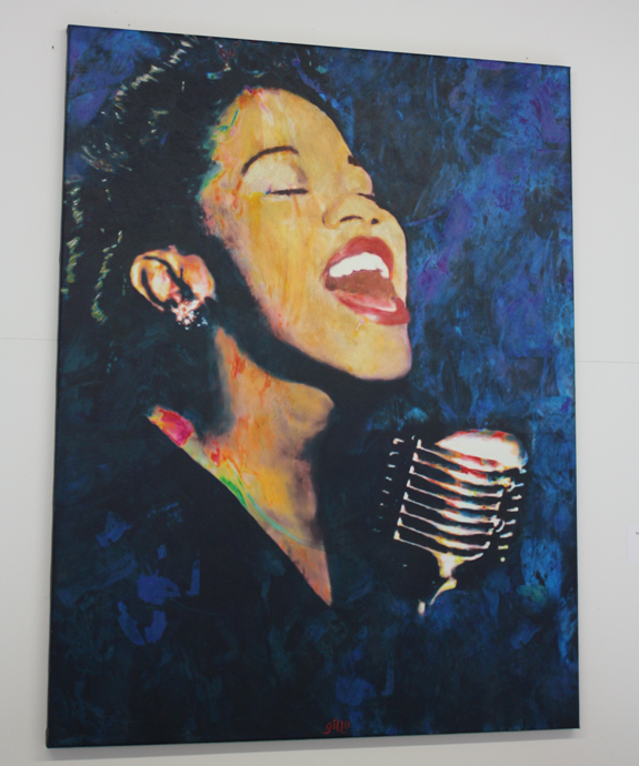 Sarah Vaughan Study 2 from James Francis Gill - copyright Véronique Gray