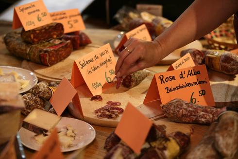 Sausage selection - copyright Gourmesse Salz & Pfeffer