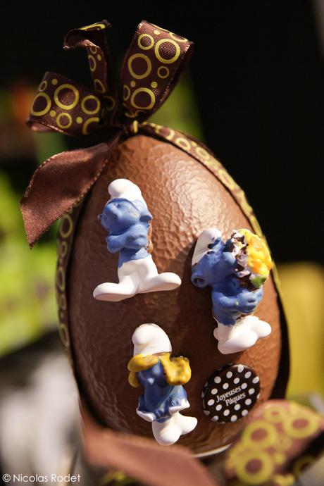 Salon du Chocolat 2012 - Easter Egg copyright Nicolas Rodet