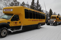 Snowcoaching in the Yellowstone Park