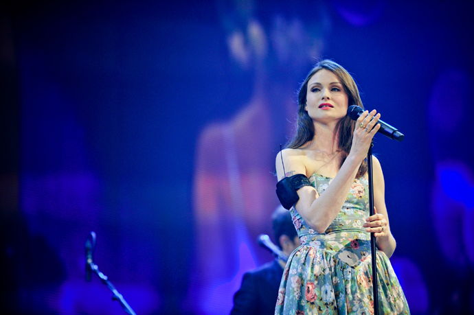 Sophie Ellis Bextor at the Energy Fashion Night - EFN 2014 Foto: Adrian Bretscher - Hangar Ent. Group - ENERGY