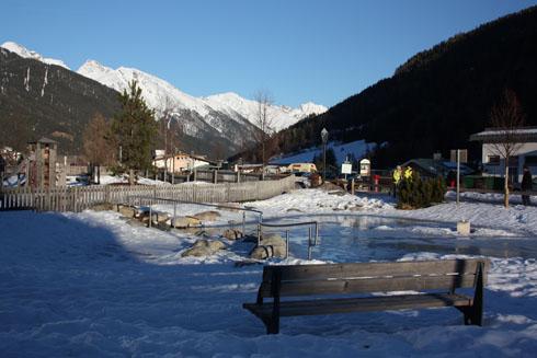 Playground in St. Anton - Voralberg (AUSTRIA)